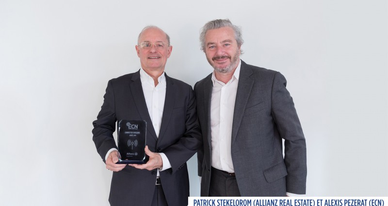 ALLIANZ REAL ESTATE GAGNANT DU PRIX BUILDING CONNECTED 2018